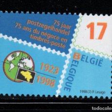 Sellos: BELGICA 2752** - AÑO 1998 - 75º ANIVERSARIO DEL NEGOCIO FILATELICO EN BELGICA. Lote 177897413