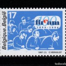 Sellos: BELGICA 2681** - AÑO 1997 - CENTENARIO DE LAS FACULTADES UNIVERSITARIAS CATÓLICAS DE MONS. Lote 178801608