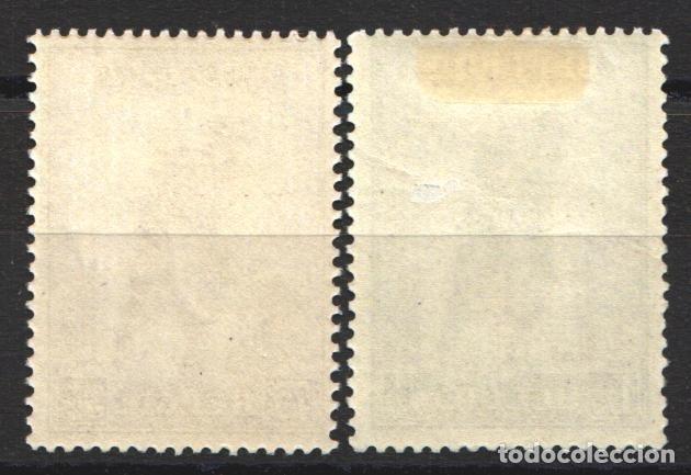 Sellos: BELGICA, 1932 YVERT Nº 351 / 352 /*/, Militar, gloria de la Infantería, - Foto 2 - 178962907