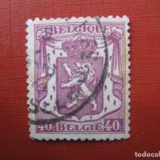 Sellos: -BELGICA 1938, YVERT 479. Lote 179062033