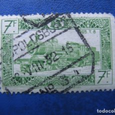 Sellos: -BELGICA 1949, YVERT 311 PAQUETE POSTAL. Lote 179100975