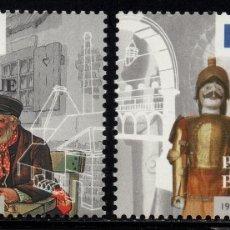 Sellos: BELGICA 2624/25** - AÑO 1996 - MUSEOS DE BÉLGICA. Lote 179173257