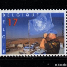 Sellos: BELGICA 2692** - AÑO 1997 - LOS CASCOS AZULES DE NACIONES UNIDAS. Lote 179173681