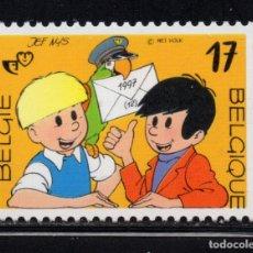 Sellos: BELGICA 2707** - AÑO 1997 - PERSONAJES DE COMICS. Lote 179174078