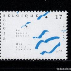 Sellos: BELGICA 2777** - AÑO 1998 - LIBRE PENSAMIENTO. Lote 180115146