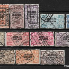 Sellos: BELGICA 1928 USADOS - 14/17. Lote 181163257