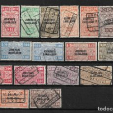 Sellos: BELGICA 1929-31 USADOS - 14/17. Lote 181163308