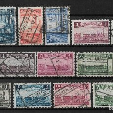 Sellos: BELGICA 1935 USADOS - 14/16. Lote 181163358
