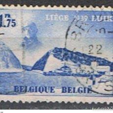 Sellos: BELGICA // YVERT 487 // 1938 ... USADO. Lote 194208965