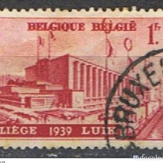 Sellos: BELGICA // YVERT 485 // 1938 ... USADO. Lote 194209082