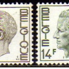Sellos: SELLOS NUEVOS DE BELGICA, YT 1817/ 18. Lote 194318848