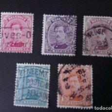 Sellos: BÉLGICA, 1915, ALBERTO I. Lote 194390866