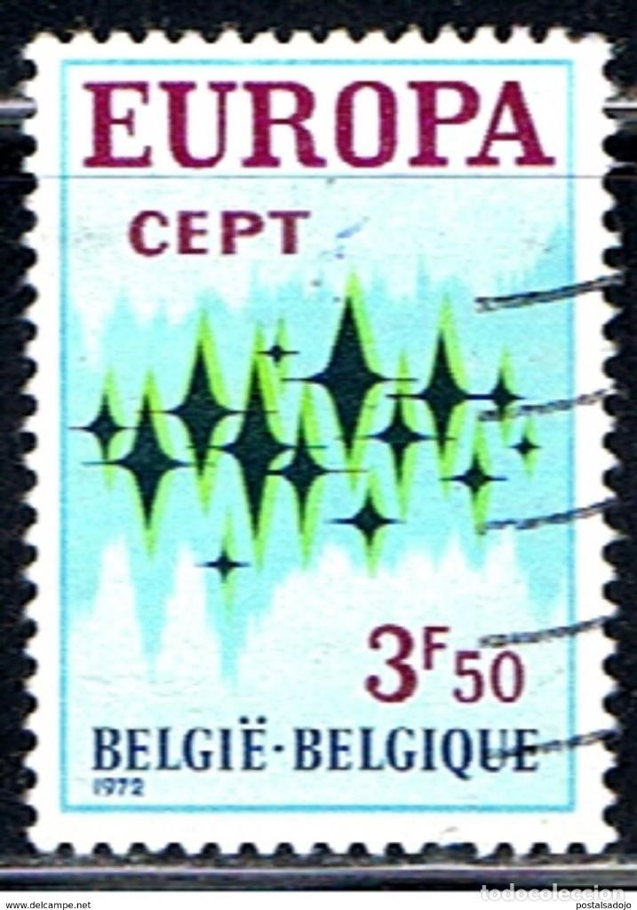 BELGICA // YVERT 1623 // 1972 .. USADO (Sellos - Extranjero - Europa - Bélgica)