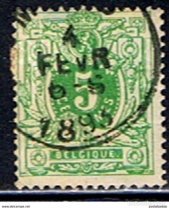 BELGICA // YVERT 45 // 1884-91 .. USADO (Sellos - Extranjero - Europa - Bélgica)