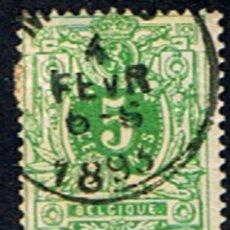 Sellos: BELGICA // YVERT 45 // 1884-91 .. USADO. Lote 194518277