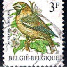 Sellos: BELGICA // YVERT 2186 // 1985 .. AVE. PAJARO ... USADO. Lote 194519467