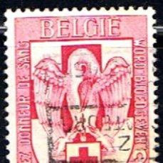Sellos: BELGICA // YVERT 986 // 1956 ... USADO. Lote 195312938