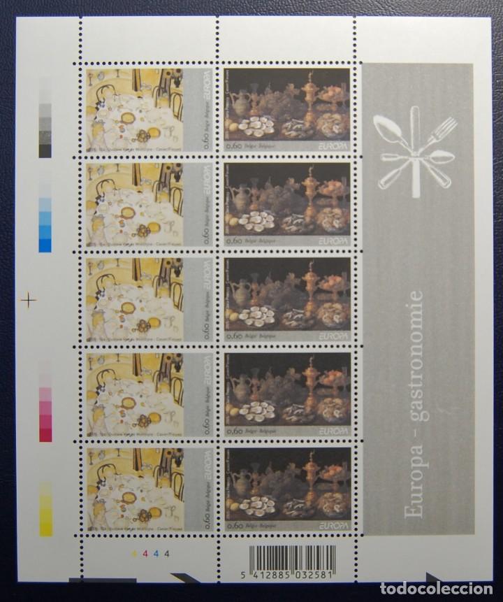 MINIPLIEGO DE LA SERIE EUROPA DE BELGICA DEL AÑO 2005.NUEVA Y SIN FIJASELLOS. (Sellos - Extranjero - Europa - Bélgica)