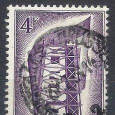 Sellos: BÉLGICA 1956 - EUROPA - SELLO USADO. Lote 198651290