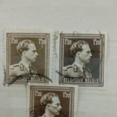 Sellos: 1956 BÉLGICA. Lote 198671165