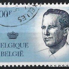 Sellos: BÉLGICA 1984 - REY BALDUINO - SELLO USADO. Lote 198679432