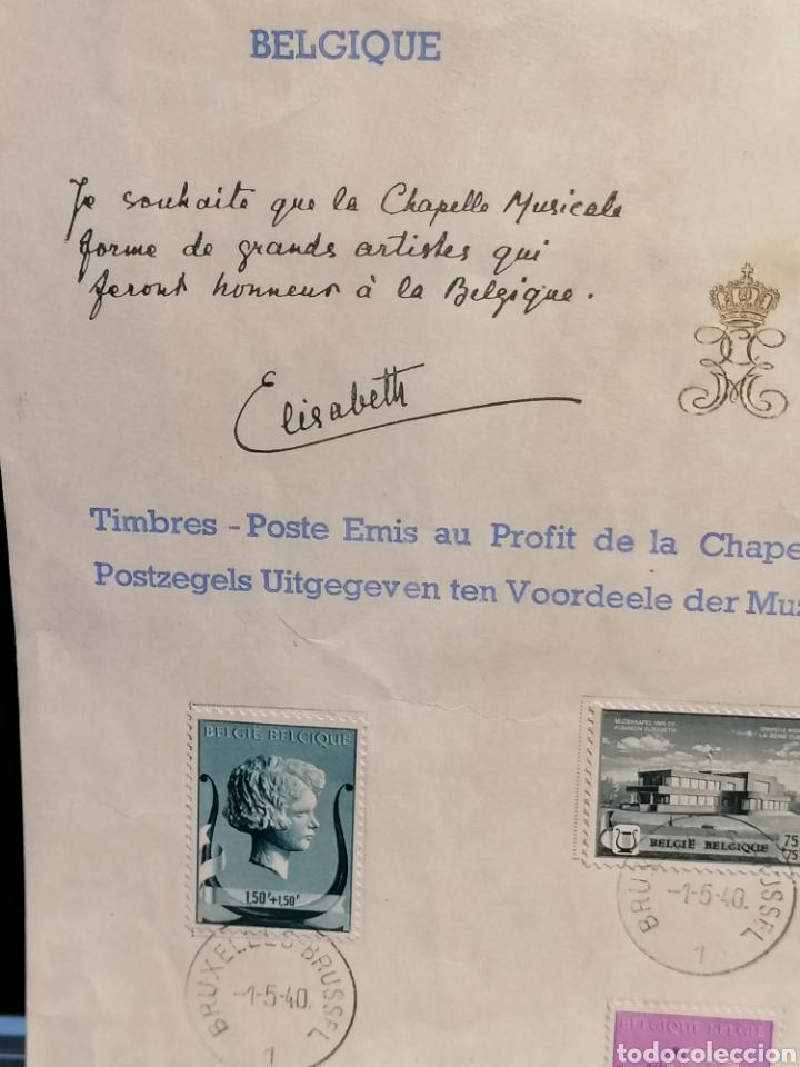 Sellos: Bélgica Yvert 532/537 firmado Reina Bélgica - Foto 3 - 199885900