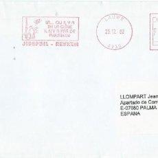 Sellos: 1992. BÉLGICA/BELGIUM. SOBRE CIRCULADO CON FRANQUEO MECÁNICO/METER ALUSIVO A LA FILATELIA.. Lote 200858093