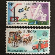 Sellos: BELGICA, EUROPA CEPT 1979 MNH (FOTOGRAFÍA REAL). Lote 243332720