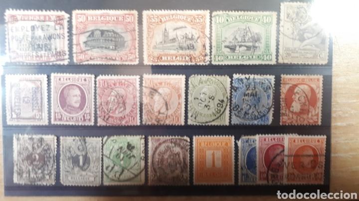 SELLOS USADOS CLASICOS DE BELGICA Y210 (Sellos - Extranjero - Europa - Bélgica)