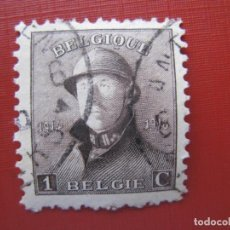 Sellos: +BELGICA 1919, ALBERTO I, YVERT 165. Lote 207183961