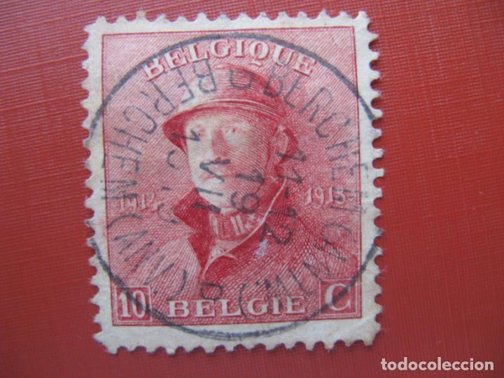 +BELGICA 1919, ALBERTO I, YVERT 168 (Sellos - Extranjero - Europa - Bélgica)