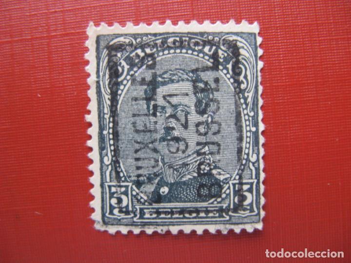+BELGICA 1920,ALBERTO I, YVERT 183 (Sellos - Extranjero - Europa - Bélgica)