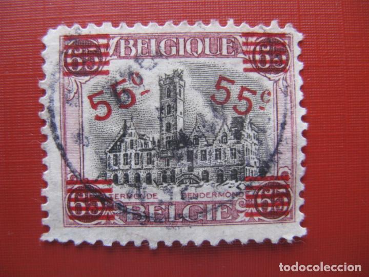 +BELGICA 1921, SELLO SOBRECARGADO YVERT 188 (Sellos - Extranjero - Europa - Bélgica)