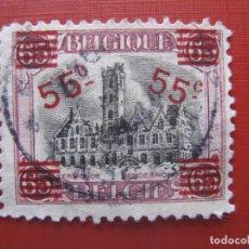 Sellos: +BELGICA 1921, SELLO SOBRECARGADO YVERT 188. Lote 207221483