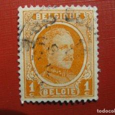 Sellos: +BELGICA 1921,ALBERTO I, YVERT 190. Lote 207264305