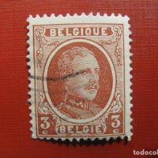 Sellos: +BELGICA 1921, ALBERTO I, YVERT 192. Lote 207264451