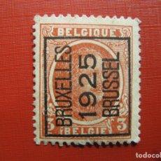 Sellos: +BELGICA 1921, ALBERTO I, YVERT 192. Lote 207264500
