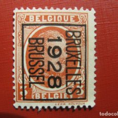 Sellos: +BELGICA 1921, ALBERTO I, YVERT 192. Lote 207264782