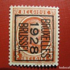 Sellos: +BELGICA 1921, ALBERTO I, YVERT 192. Lote 207264910