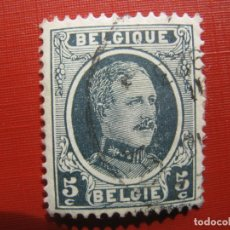 Sellos: +BELGICA 1921,ALBERTO I, YVERT 193. Lote 207265156