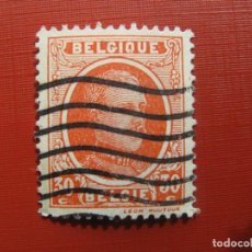Sellos: +BELGICA 1921, ALBERTO I, YVERT 199. Lote 207266127
