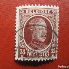Sellos: +BELGICA 1921, ALBERTO I, YVERT 201. Lote 207266373