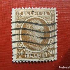 Sellos: +BELGICA 1921, ALBERTO I, YVERT 203. Lote 207266516