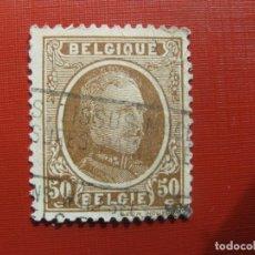 Sellos: +BELGICA 1921, ALBERTO I,YVERT 203. Lote 207266587