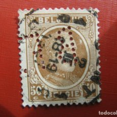 Sellos: +BELGICA 1921, ALBERTO I, YVERT 203. Lote 207266677
