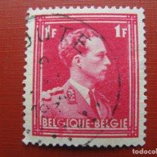 Sellos: +BELGICA 1936, LEOPOLDO III, YVERT 428. Lote 207369335