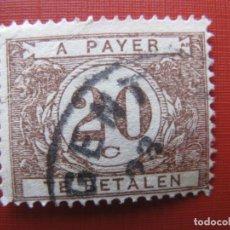 Timbres: +BELGICA 1922, SELLO DE TASA YVERT 34. Lote 207597780