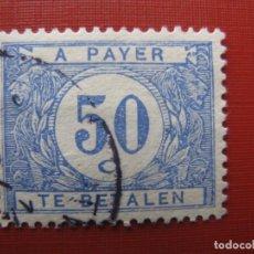Timbres: +BELGICA 1922, SELLO DE TASA YVERT 38. Lote 207598981