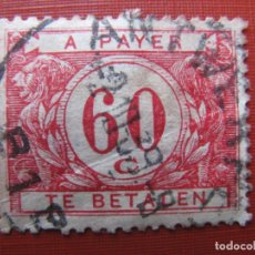 Timbres: +BELGICA 1922, SELLO DE TASA YVERT 40. Lote 207599372