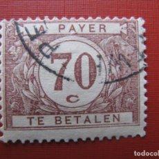 Timbres: +BELGICA 1922, SELLO DE TASA YVERT 41. Lote 207599443